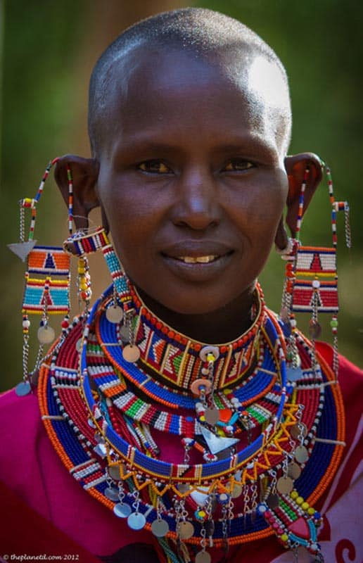 kenya photography masai woman