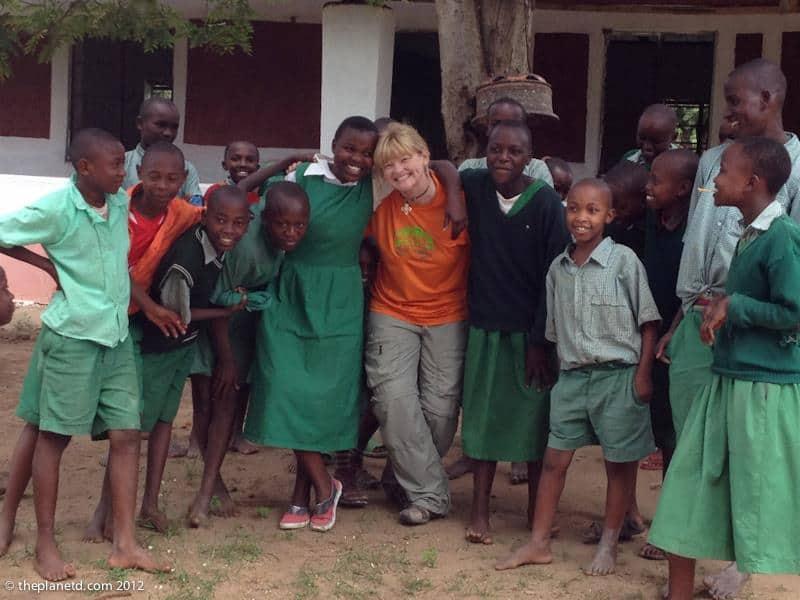 school children of Kenya