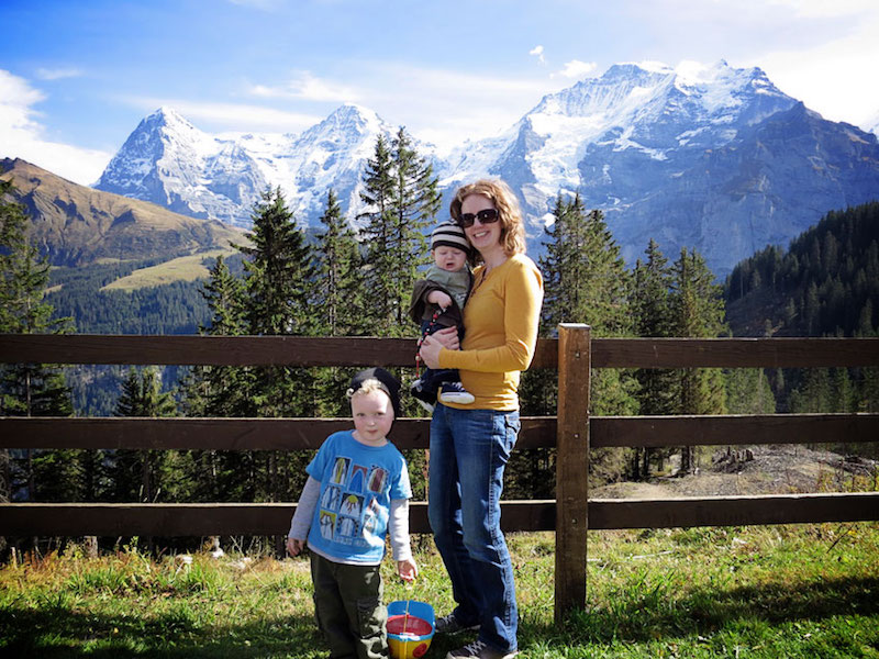 Kids Who Inspired Their Mom to get out and See The World