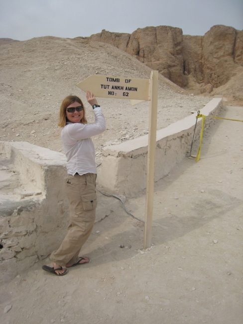King Tuts Tomb at Valley of the Kings