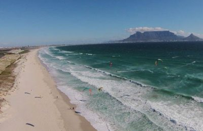 guide to kitesurfing in cape town south africa