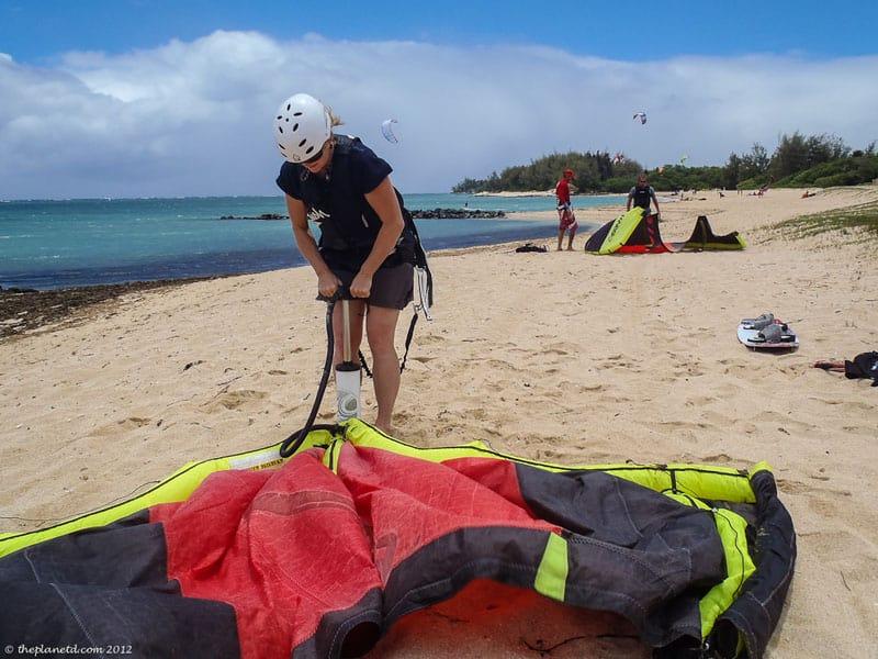 kiteboarding maui deb