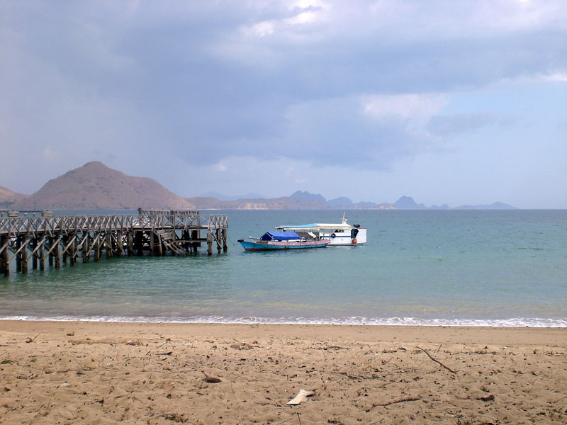 komodo island tour beach