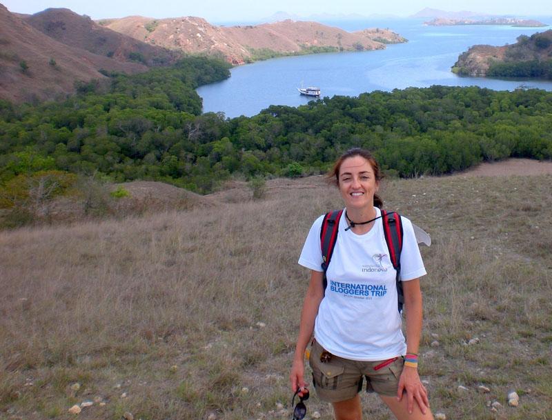 blogger tour on komodo island