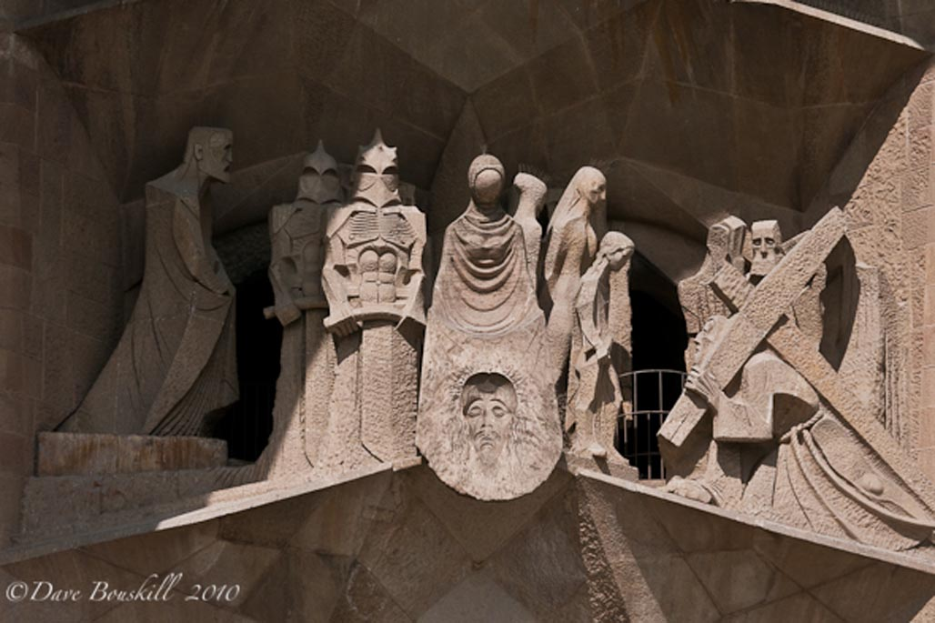 Immaculate Carvings | gaudi cathedral barcelona