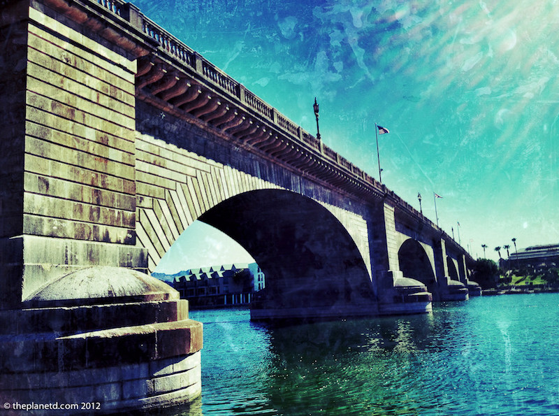 lake havasu london bridge water
