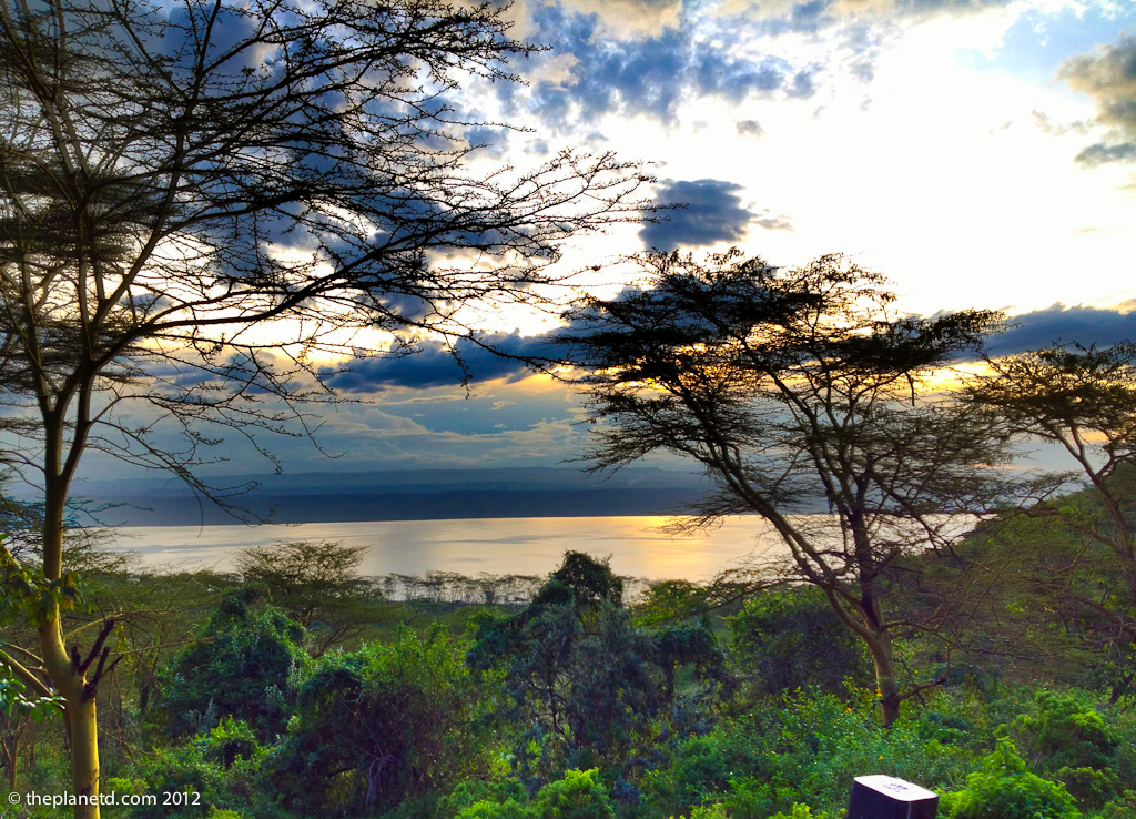 View of Lake Nakuru