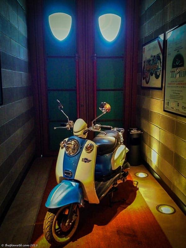 Lamborgini motorcycle