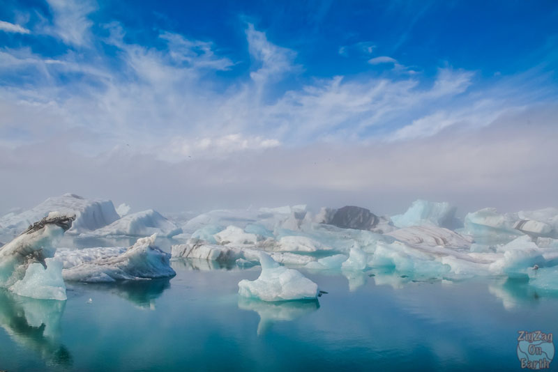 icebergs at lagoon