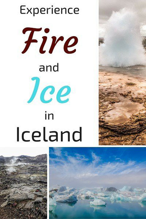 Iceland the land of fire and ice