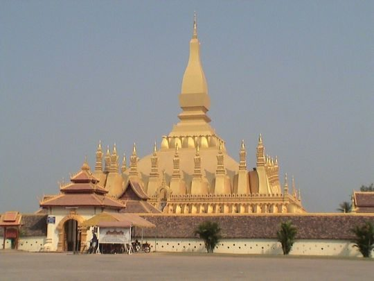 That Luang in Vientiane Laos
