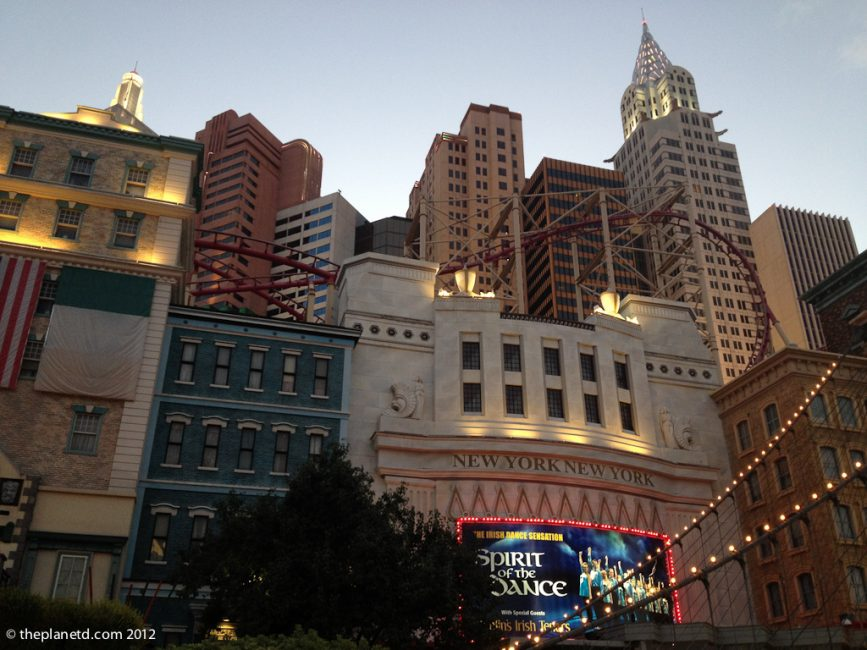 vegas vs new york city