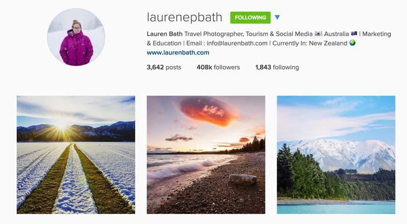 top travel photographers instagram