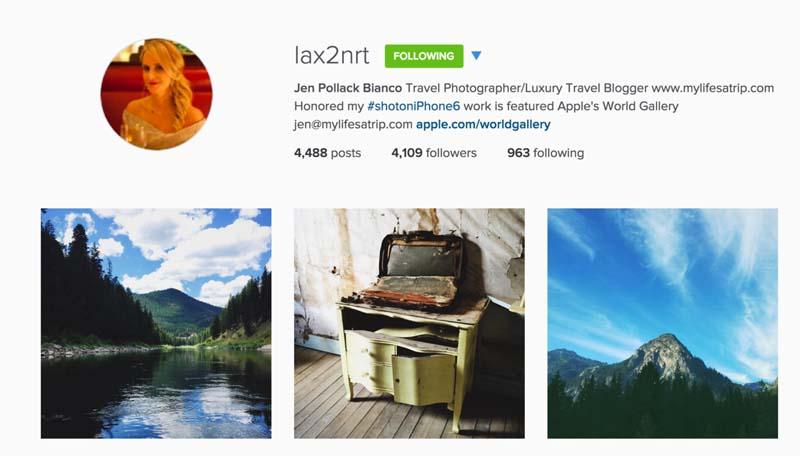 travel instagram photographer lax2nrt