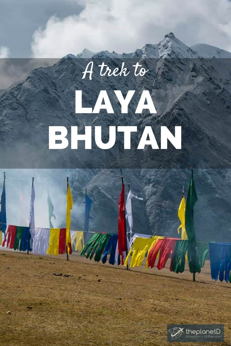 Bhutan laya trek to royal highlander festival