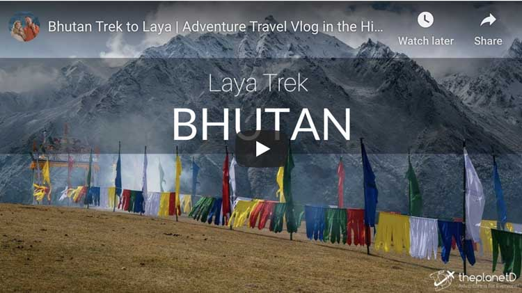what to do in bhutan laya trek