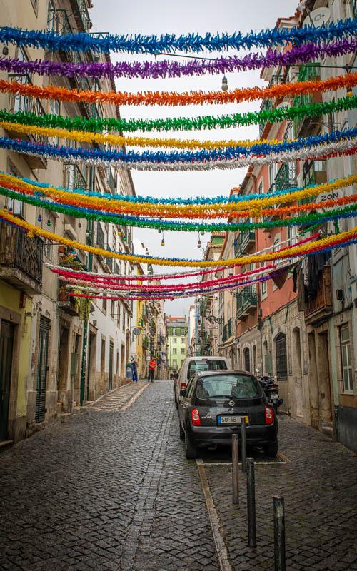 улица байрро альт Достопримечательности Лиссабона