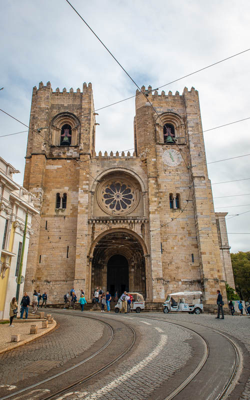 lisbon cathedral | what to do in a a short time in lisbon
