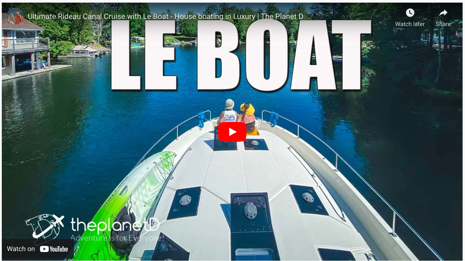 le boat video