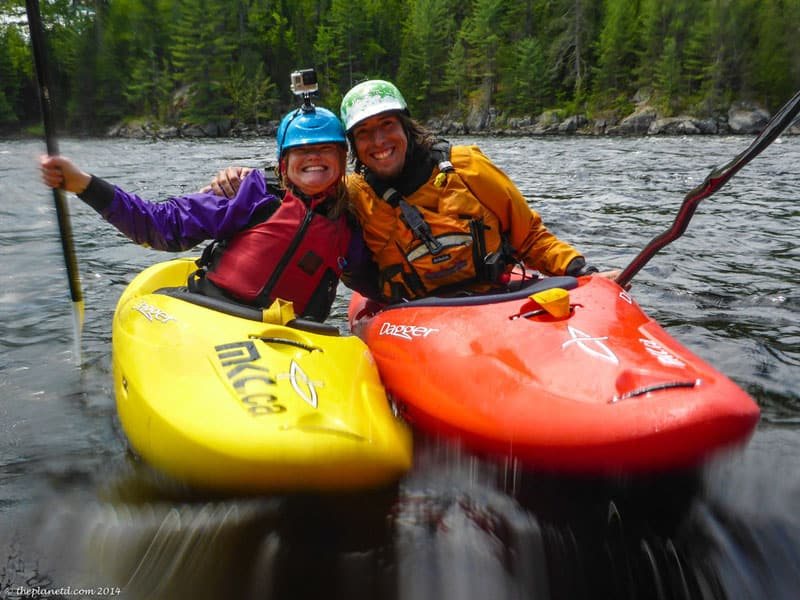 learn to whitewater kayak ontario