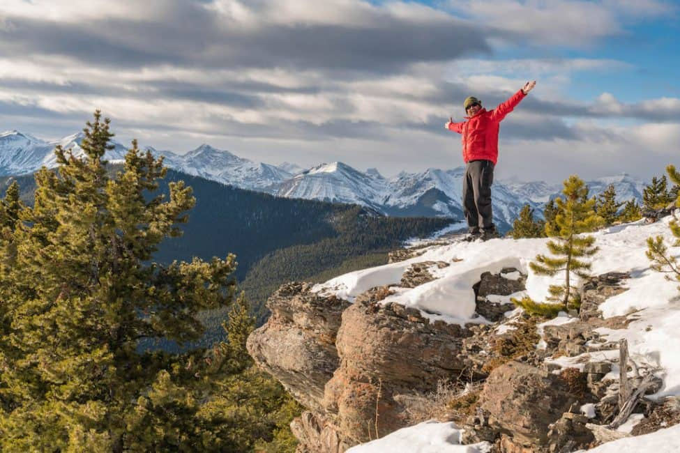 Banff mountains life goals