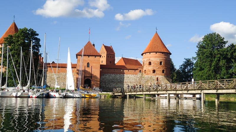 lithuanian outdoor adventures castle