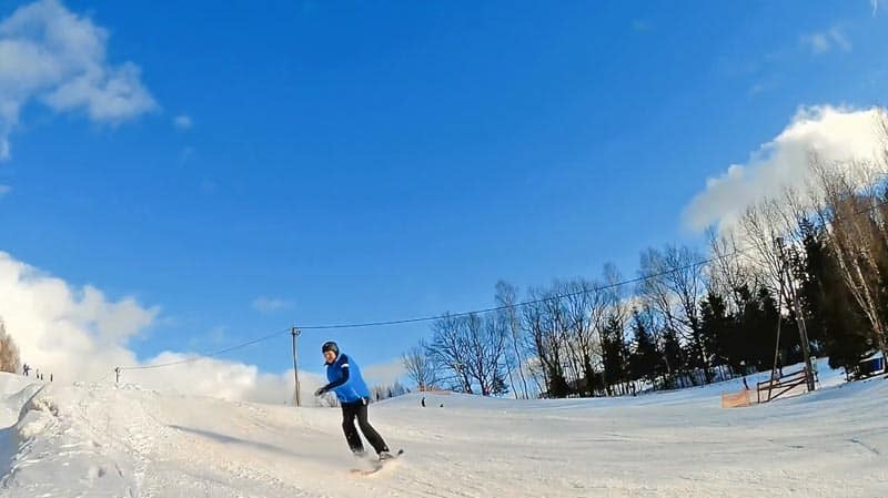 things to do in lithuania snowboarding