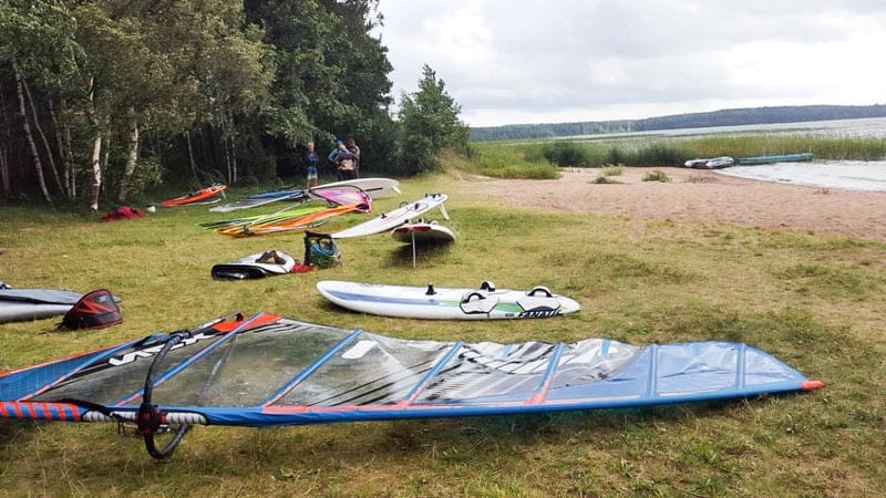 what to do in lithuania windsurfing