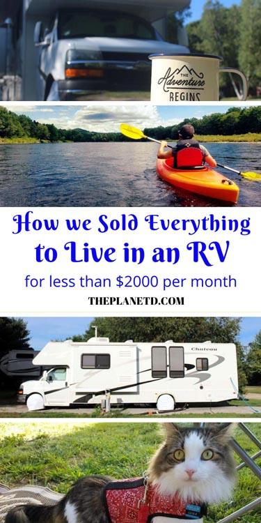 how we sold everything to live in an rv