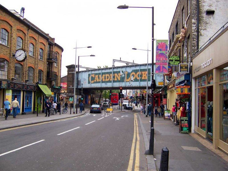 london attractions camden town
