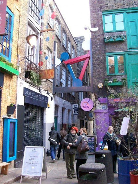 london attractions neals yard