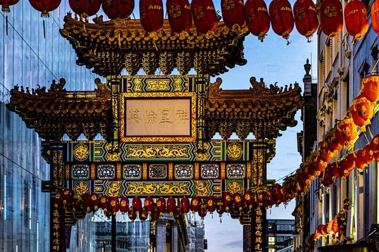 Chinatown on Gerrard Street 3 Days in London 3 day London itinerary England