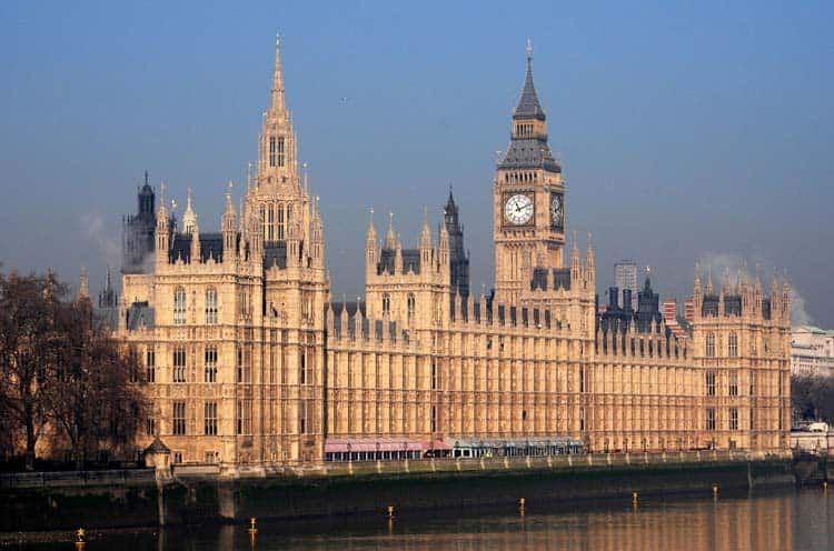 london landmarks | houses of Parliament
