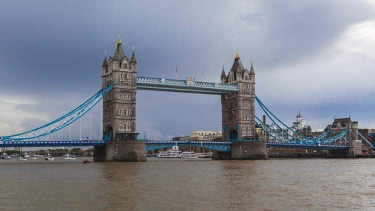 Monuments de Londres | pont tour
