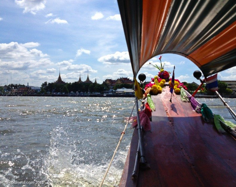 cool city tours in bangkok on a longtail boat