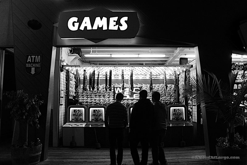 black and white games