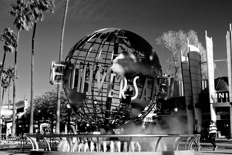 los angeles photos black and white universal