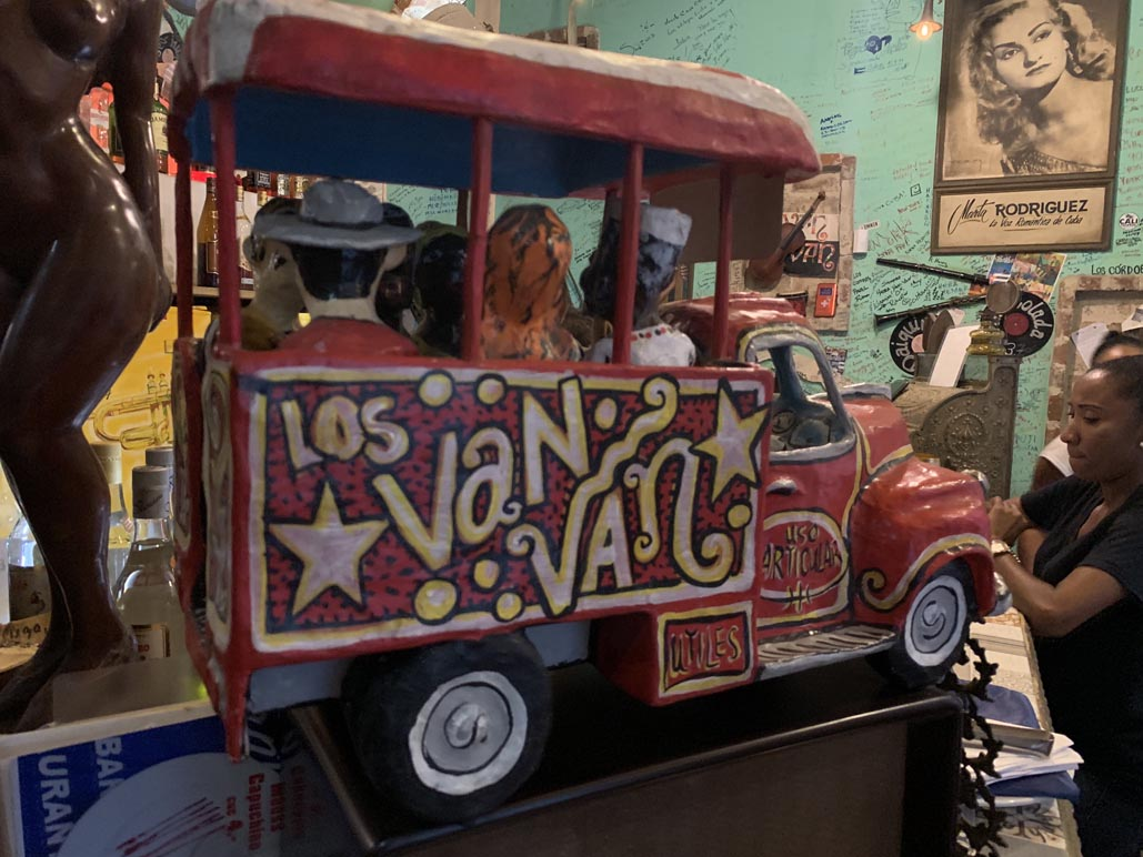 havana Cuba things to do - bar lost van van