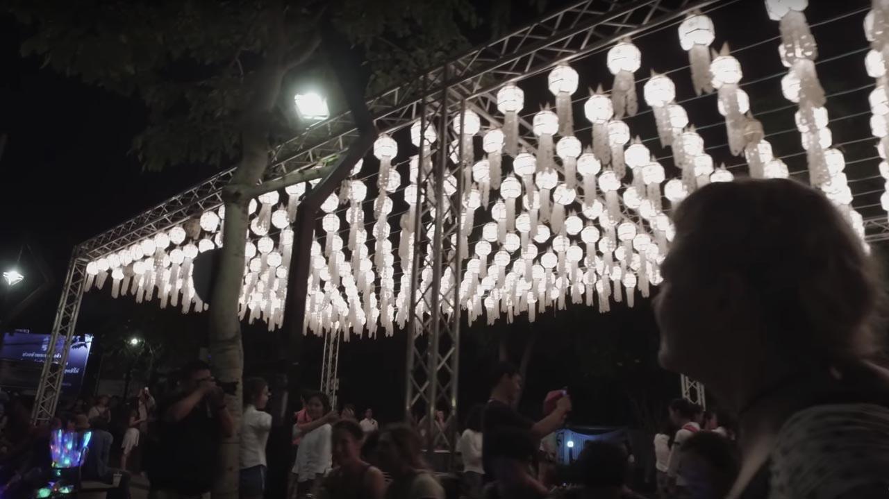 loy krathong lanterns chiang mai