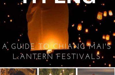 Loy Krathong and Yi Peng festival Chiang Mai Thailand guide
