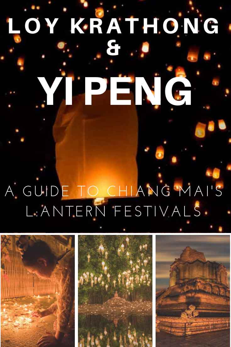 Loy Krathong and Yi Peng festival Chiang Mai Thailand guide