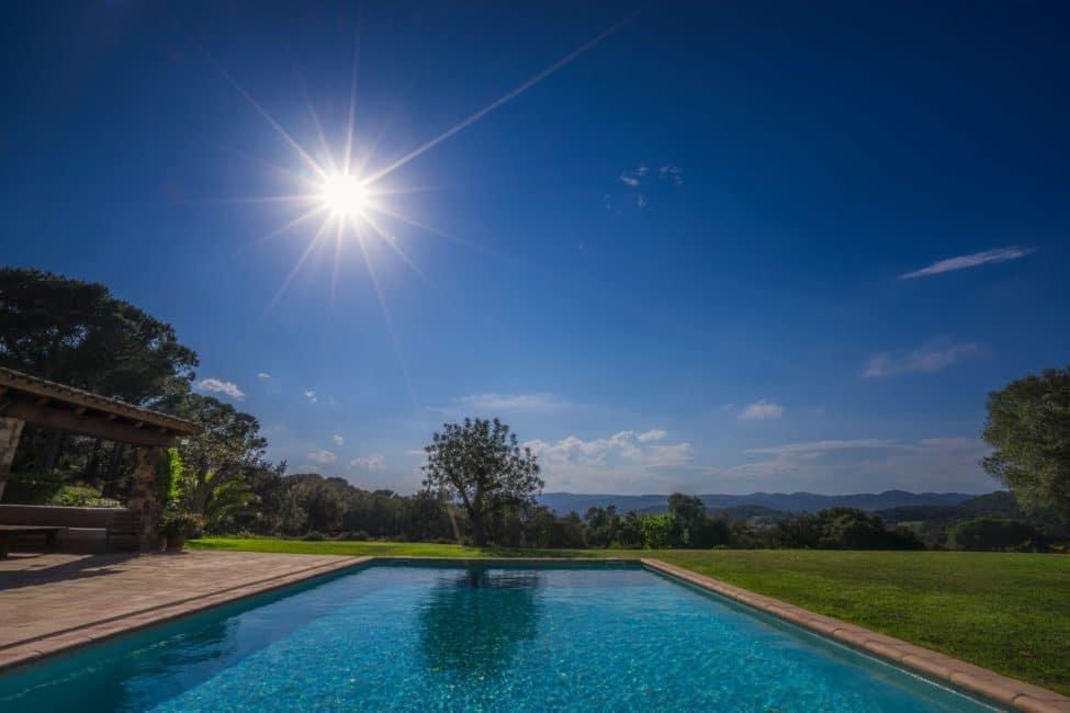 infinity pool villa in spain