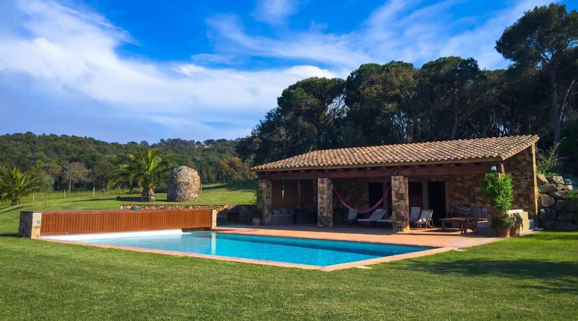 pool spain villa