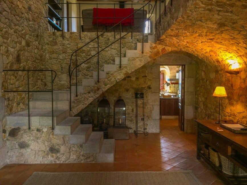 interior luxury villa country side spain