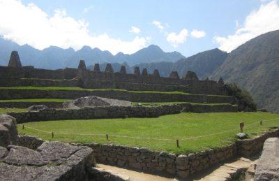Machu Picchu hike - Inside the Machu Picchu Citadel