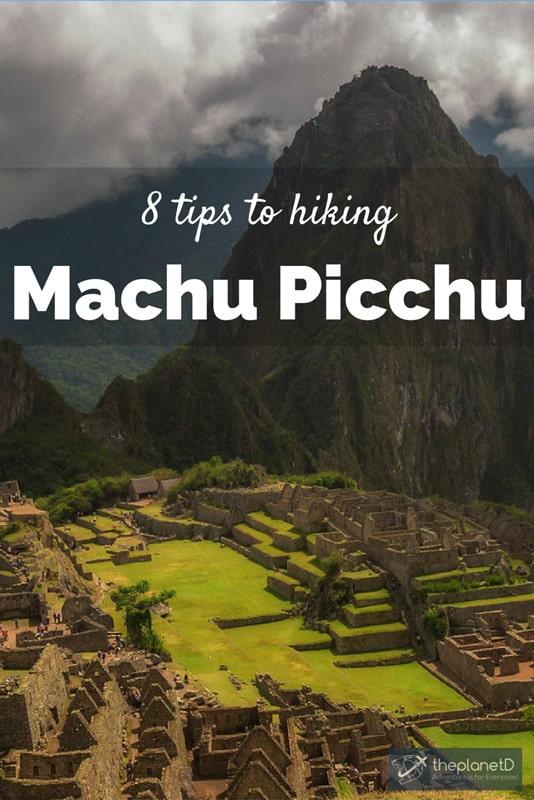 machu picchu hike tips
