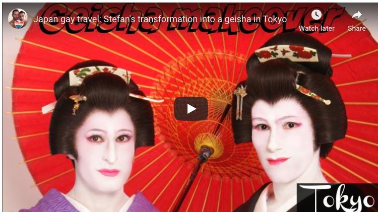 male geisha experience
