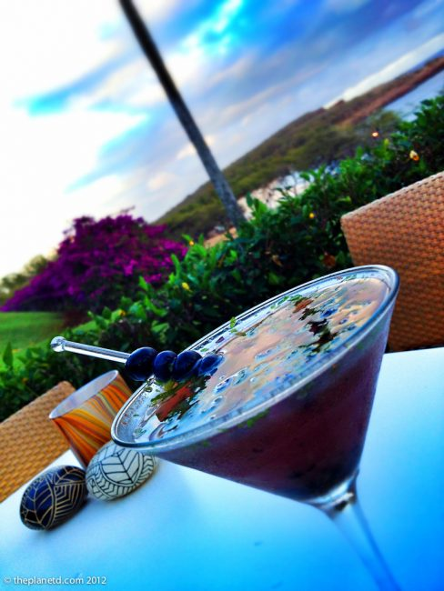Delicious Signature Drinks at Four Seasons Lanai