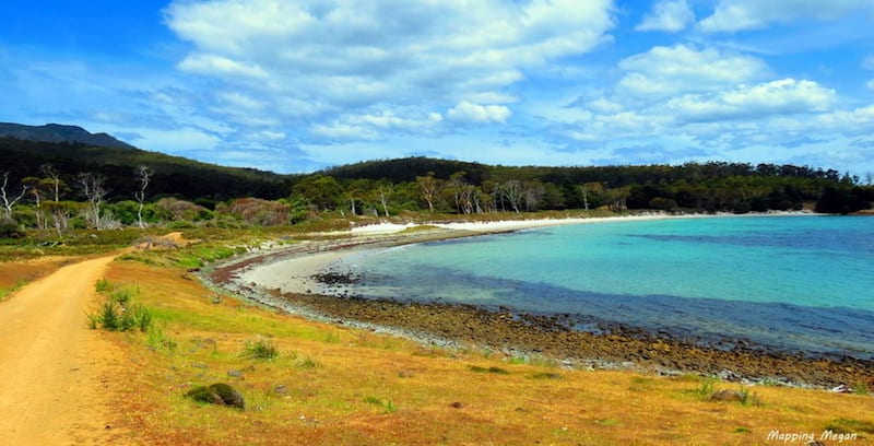australia beaches of Maria Island