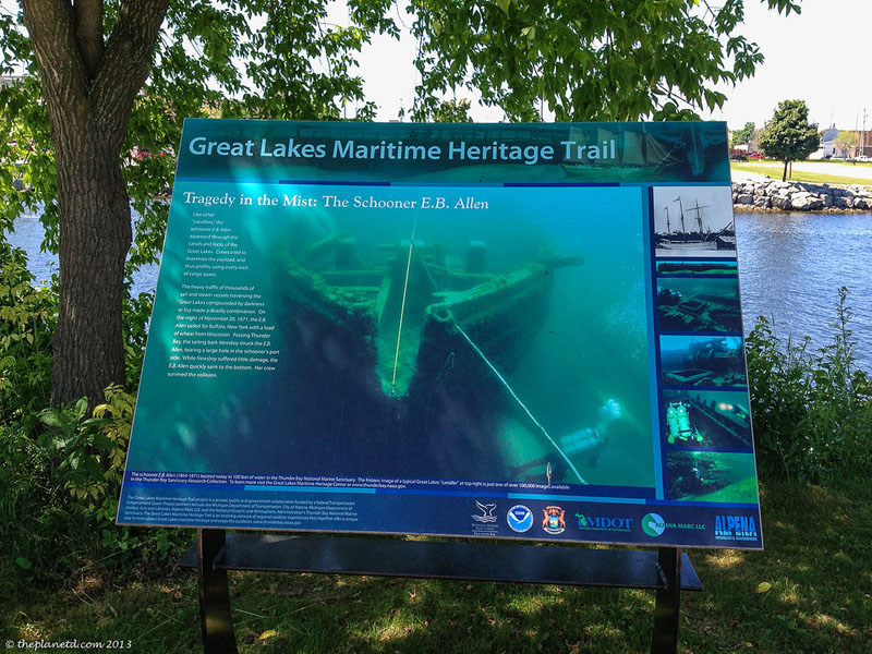 maritime heritage michigan trail